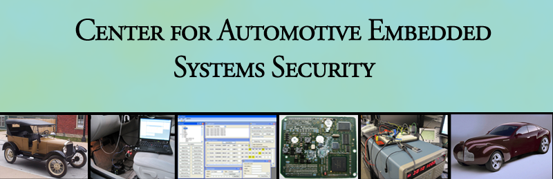 Automotive Security And Privacy Center -- University of Washington and University of California, San Diego